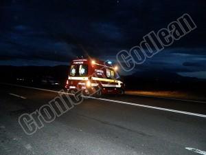 Accident grav între Ghimbav şi Codlea