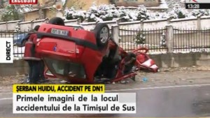 Huidu a făcut un accident grav pe DN1. A omorât doi oameni și alte două persoane sunt încarcerate