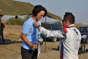 Argint pentru o brașoveancă la Cupa Est Europeană de Paraşutism