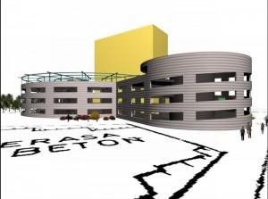 """Construcţia parcării supraterane din Poiană este """"la mâna"""" judecătorilor"""
