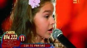 """EXCLUSIV Rebeca Neacşu, minunea de fată de la """"Românii au talent"""", a cucerit inimile italienilor VIDEO"""