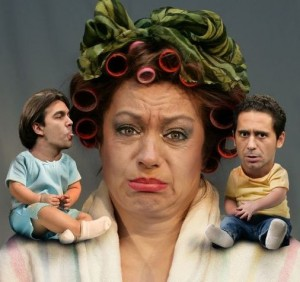 """Mă mut la mama"", comedie la Reduta"