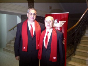 Radu Bădiță și Constantin Arișanu, candidații UNPR pentru Primăria și Consiliul Județean Brașov