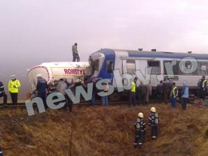 Accident între Râșnov și Zărnești, la trecerea de cale ferată
