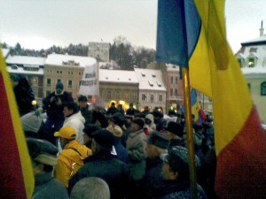 GALERIE FOTO şi VIDEO Braşovul, oraş de proteste!