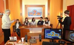 Școala generală 2 are studio de televiziune pentru știri!