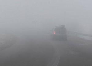 Cod galben de ceață, la Brașov