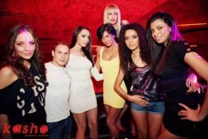 FOTO Mădălina Pamfile, alături de Liga Sexy în Kasho Club