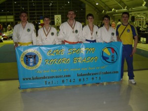 Trei medalii pentru braşoveni la Campionatul Naţional de Ju Jitsu