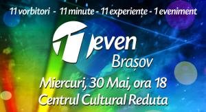 Speakeri excepţionali la conferinţa 11even Braşov