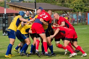 Rugby: Olimpia Bucureşti – CFR CSU Braşov 50 – 13 (10 – 10)