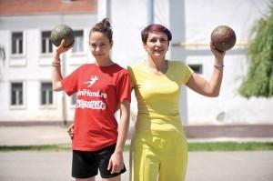 Mariana Târcă predă ștafeta fiicei, Sorina