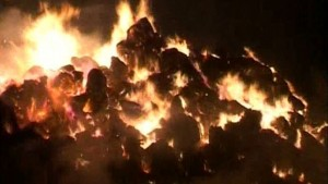 250 de tone de paie au ars la Stupini