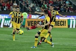 FC Brașov – Pandurii Tg. Jiu: 0-1, scor final