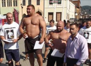 Un jandarm brașovean, cel mai puternic bărbat din România