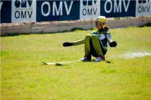 Săceleanca Daniela Haralambie, prima româncă la Cupa Mondială la sărituri cu schiurile