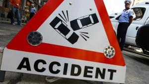 Un nou accident rutier, acum, la Râșnov