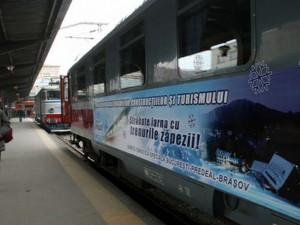 Trenurile zăpezii au intrat în circulaţie