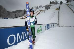 Sărituri cu schiurile: Iulian Pîtea s-a calificat pentru Olimpiada de la Soci