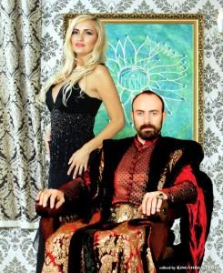 """Realizatoarea emisiunii TV BV-01-ADE lansează colecția de modă """"Suleyman Magnificul!"""""""