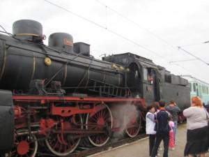 140 de ani de la venirea primului tren în Brașov