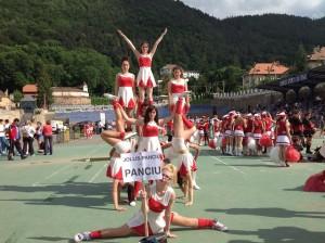 FOTO-VIDEO Campionatul național de majorete, un eveniment de nota 10!