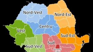 Salariile, PIB-ul şi productivitatea pe cele 8 regiuni din România