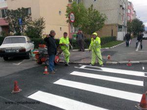 Noi treceri de pietoni pe străzile din Brașov