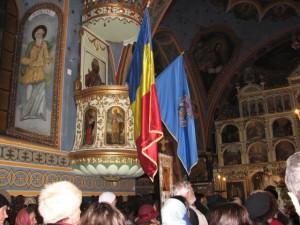 VIDEO Artificii tricolore la Biserica Sfânta Treime! Află cu ce ocazie!