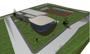 Primăria Codlea se împrumută de 19,63 de milioane de lei pentru a construi bazinul de înot de la Maial