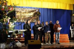 Persoanele private de libertate au participat la tradiţionalul Concert de Colinde din Codlea