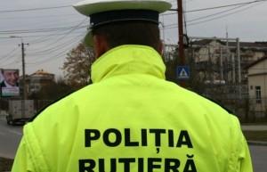 Accident pe Calea Bucureşti. O persoană accidentată