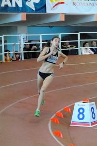 Atletism: Adina Cîrciogel, campioană balcanică la ștafetă 4×100