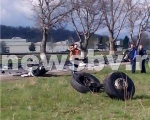 Accident înfiorător pe DN73, între Brașov și Cristian. Bucăți din cadavrul unui șofer sunt împrăștiate pe zeci de metri!