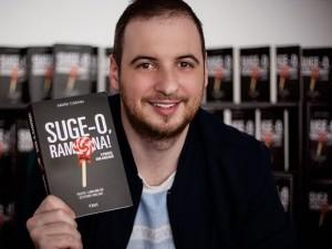 """Stand Up Comedy și lansare de carte: """"Suge-o, Ramona"""""""