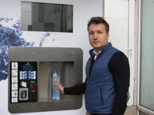 EXCLUSIV LA BRAȘOV: Dozator de apă plată și carbogazoasă