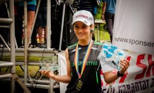 Iulia Găinariu, bronz în prima etapă a Campionatelor Naționale de alergare montană