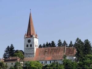 Pictură originală din anul 1240, descoperită la biserica fortificată din Cincu