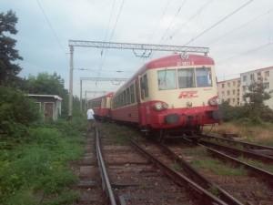 FOTO Tren deraiat în zona străzii Codrii Cosminului