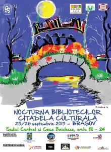 Nocturna Bibliotecilor, ediţia 2015, la Braşov