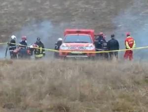 Alarmă la ISU Brașov: posibil să se fi prăbușit un elicopter în zona Tărlungeniului