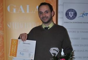 Supervoluntarul anului 2015 în Brașov este Alexandru Voican de la Fundația Hospice Casa Speranței !