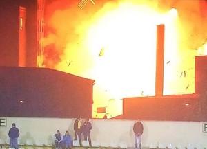 Explozie puternică lângă Stadionul FC Brașov, la Vel Pitar. Un mort şi cinci răniţi