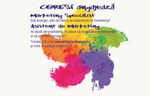 Angajăm doi colegi noi pentru echipa de marketing Coresi!