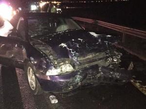 Accident grav pe DN1 la ieșirea din Făgăraș