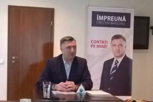 Cătălin Leonte intră oficial în cursa pentru Primăria Brașov