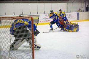 Hochei: Corona Brașov învinge, dramatic, în deplasare, Steaua, la juniori