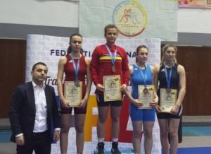 Lupte: Mădălina Caia, din nou aur și campioană națională. Consiliul Județean ce face pentru ea?