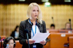 Maria Grecea a susţinut cauza prezenţei femeilor în politică la Strasbourg