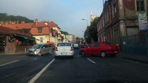 Accident pe Strada Cuza Vodă